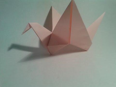 Shinyorigami: Como hacer una grulla de papel