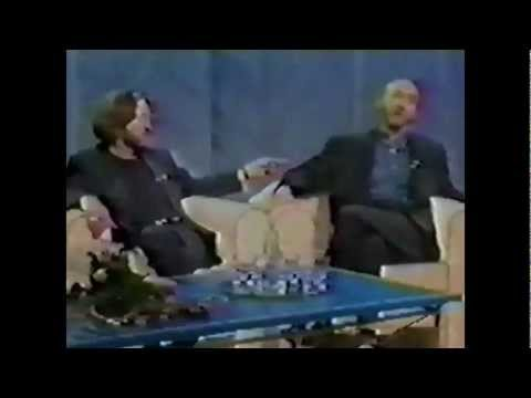 Clapton and Townshend Full Interview Saturday Matters - 1989