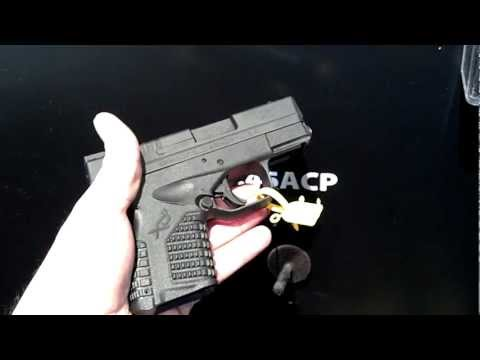 New Springfield XDs-3.3 .45acp Shot Show 2012 Carry Concealed Show