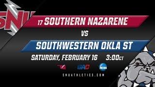 No. 17 SNU Men's Basketball vs. Southwestern Oklahoma State