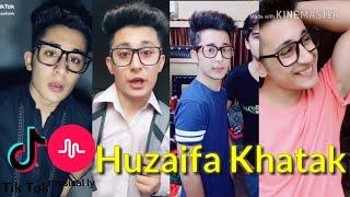 Huzaifa Khatak Musically Videos   Pakistani   Best Tik Tok Videos.