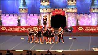 2018 Pikeville High School Cheerleaders, National Champs