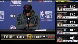Kyle Lowry Press Conference | NBA Finals Game 5