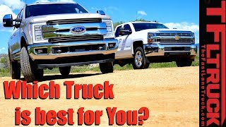 Heavy Duty Gas or Diesel? Which Truck Is Best For You?