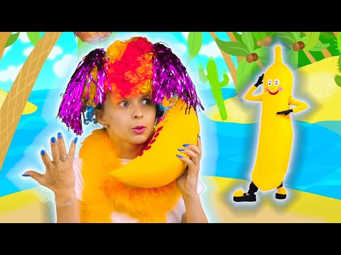 Five Big Bananas - Funny Songs for Children on HeyHop Kids