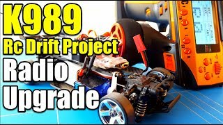 Wltoys K989 Rc Drift Project Ep17 Transmitter Upgrade | FLYSKY FS-GT3C With 3 Channel Receiver