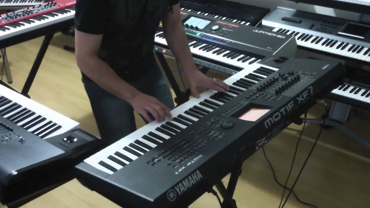 yamaha motif xf korg kronos nord stage 2 roland. Black Bedroom Furniture Sets. Home Design Ideas