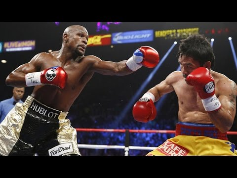 Floyd Mayweather Jr. Beats Manny Pacquiáo In 'Fight Of The Century'