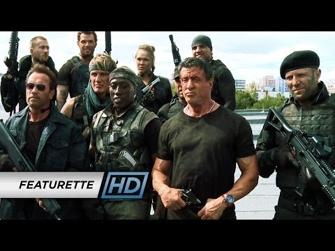 The Expendables 3 (2014) - 'Action on Set' Official Featurette