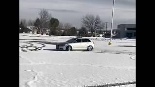 Audi A3 3.2 snow drift r32