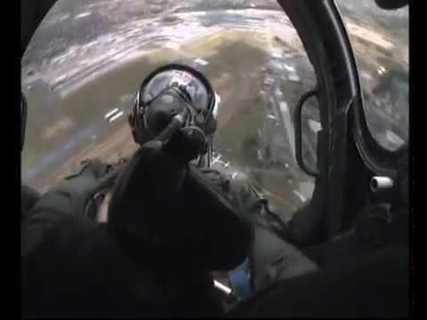 Mirage 2000 air-show flight demonstration