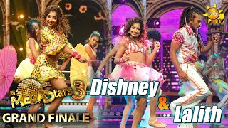 Dishney Rajapaksha with Lalith  Mega Stars 3   GRAND FINALE   2021-10-02