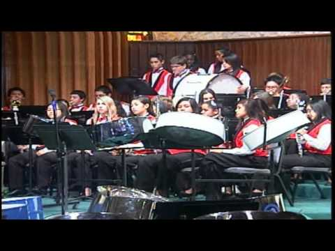 Miami Temple SDA (Walker Memorial Academy Band - A Mighty Fortress)