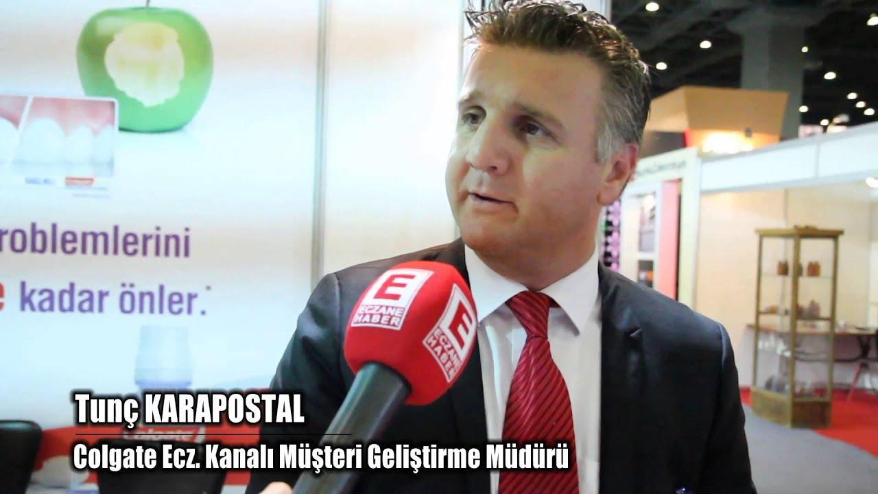 Tunç KARAPOSTAL-Colgate Ecz. Kanalı Müsteri Geliştirme Müdürü