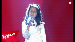 Enkela - Me Fal | Audicionet e Fshehura | The Voice Kids Albania 2019