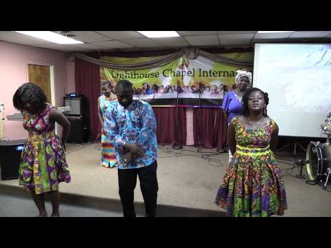 The Anointed Feet Dancers - You Too Dey Bless Me (lighthouse Chapel International) video