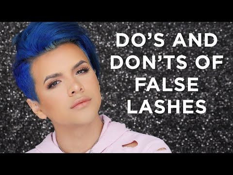 Do's and Don'ts of False Lashes