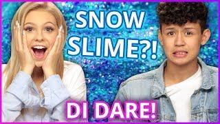 Download Lagu DIY SNOW SLIME?! Di Dare w/ Jordyn Jones & Brandon Westenberg Gratis STAFABAND