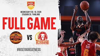 Mono Vampire v Singapore Slingers | FULL GAME | 2019-2020 ASEAN Basketball League