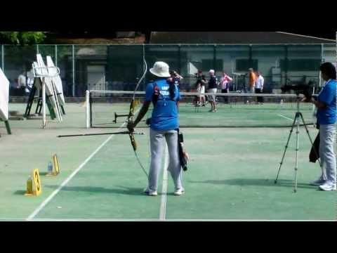Deepika Kumari Practice Archery WorldCup2012  Final - Tokyo