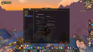 World of Warcraft gameplay on Asus E45M1-I Deluxe (AMD E-450 APU)
