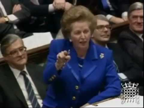 "Margaret Thatcher - ""They'd rather have the poor poorer."""