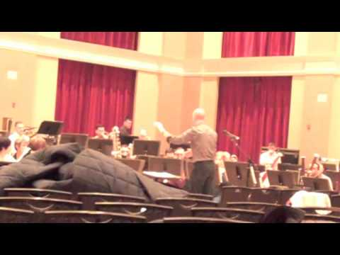 The Marine Band Rehearses Joel Puckett's It Perched for Vespers Nine