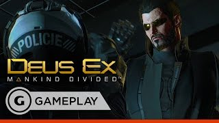 Stealth, Hacking, and Exploring - Deus Ex: Mankind Divided Gameplay