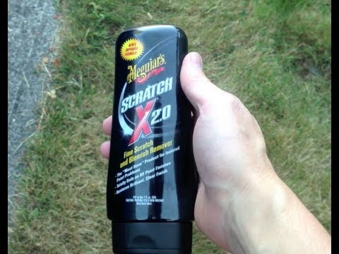 How to remove Scratches from your Car - Meguiar's Scratch X 2.0 - Does it really work?