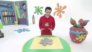 Art attack - Range bureau - Sur Disney Junior - VF