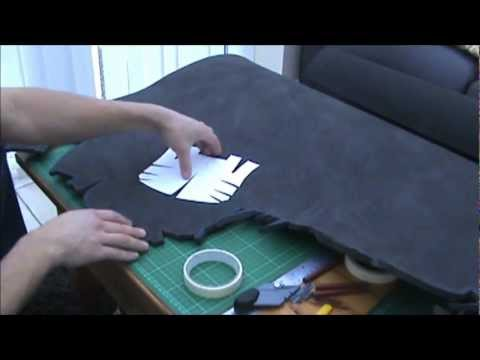2A - (Tools needed. Putting Templates to Foam) Foam Pepakura Iron Man Suit/Armor explanation