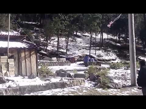 Afectados por tormenta de nieve en Ixtapaluca
