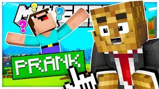 THE ULTIMATE WAY TO PRANK YOUR FRIENDS WITH LUCKY BLOCKS - MINECRAFT LUCKY BLOCK WALLS