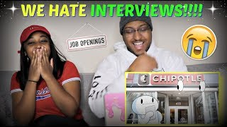 "TheOdd1sOut ""My Thoughts on Job Interviews"" REACTION!!"
