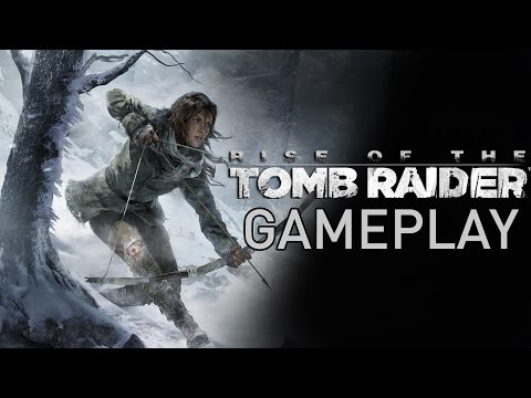 Rise of the TOMB RAIDER GAMEPLAY Demo - E3 2015