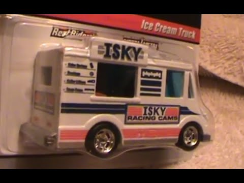 Ice Cream truck Delivery series Hot Wheels