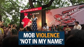 'Notinmyname'- Hundreds protest against recent lynching incidents
