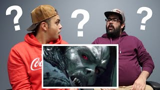Morbius Teaser Trailer #1 REACTION