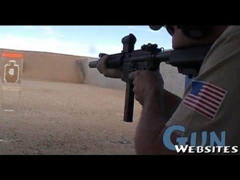 9mm Suppressed SBR AR-15