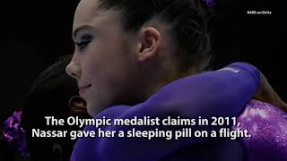 "Olympic Gold Medal Gymnast ""I Was Molested By A Team Coach"""