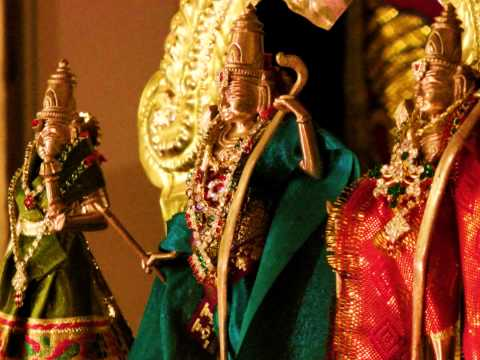 Carnatic Devotional Krithi on Sri Ramachandra - Alli Nodalu...
