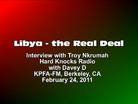 LIBYA - The Real Deal