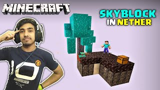 MINECRAFT SKYBLOCK BUT IT'S IN THE NETHER