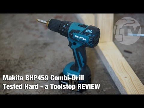 Makita BHP459 13mm Brushless 2-speed Combi Drill Tested HARD - a Toolstop REVIEW