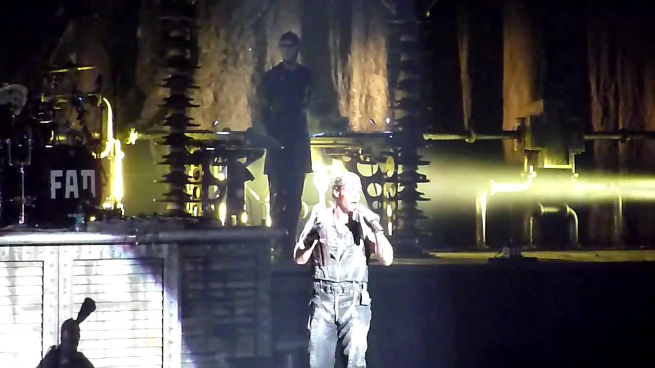 Rammstein Waidmanns Heil Madison Square Garden 11 12 2010 Hd Youtube