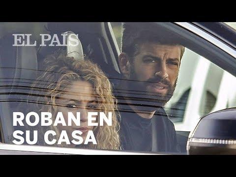 SHAKIRA Y PIQUÉ | Roban en la casa de la pareja en Esplugues de Llobregat | Gente