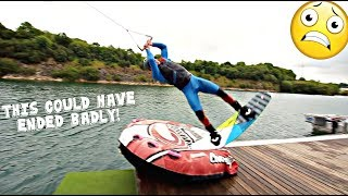 Trying Crazy Dock Starts - Wakeboarding