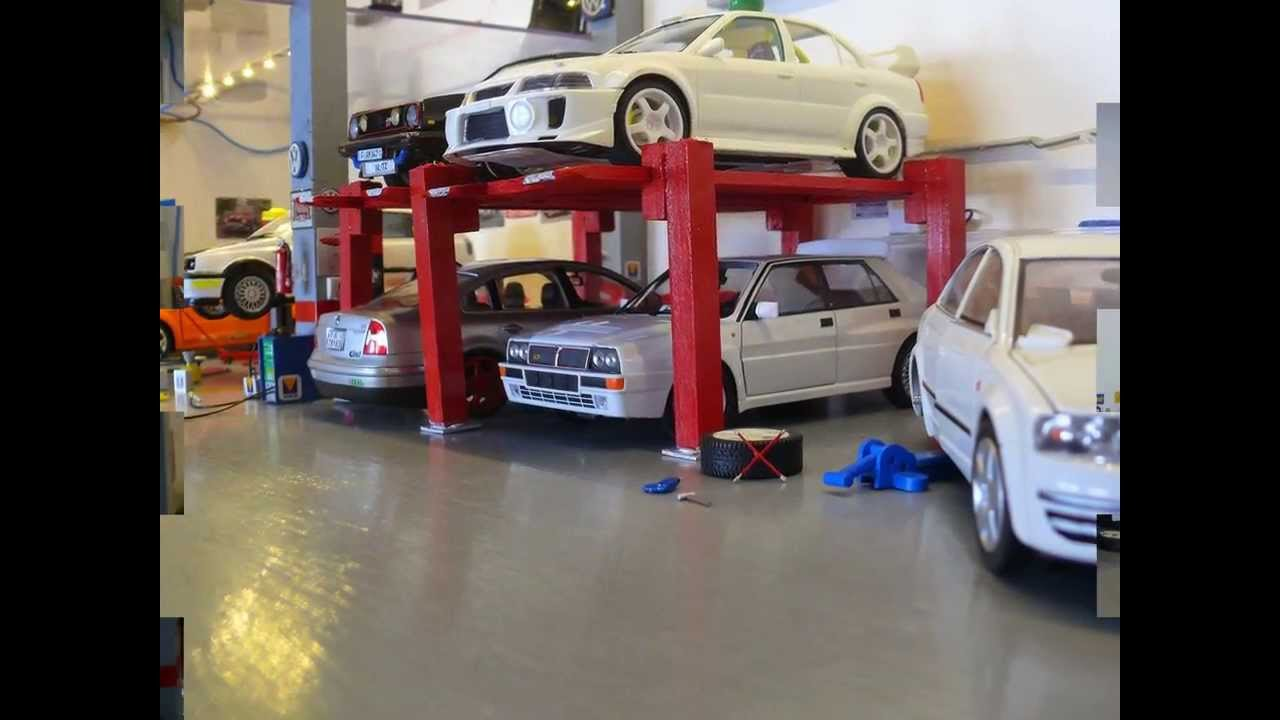 My garage diorama 1 24 youtube for A 1 garage