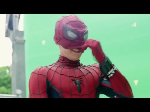 Съемки фильма Человек-паук Возвращение домой (2017) Behind The Scenes Spider-Man Homecoming