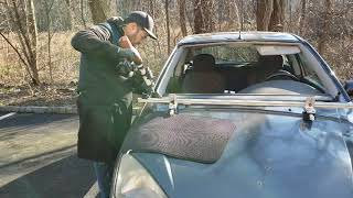 Rust under the windshield. Windshield replacement  Windshield Rust Repair
